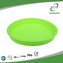 Customized 100% Food Grade Silicone 10'' Round Cake Pan Silicone Mold Rubber