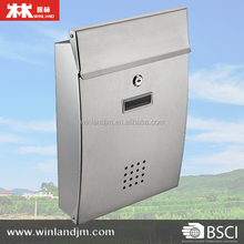 Wall Mounted Stainless Steel Mailbox post box Letter box