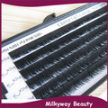 8-16mm B/C/D/J Curl 100% Mink fur individual false eyelash extension 6 long rows pack soft mink false lashes