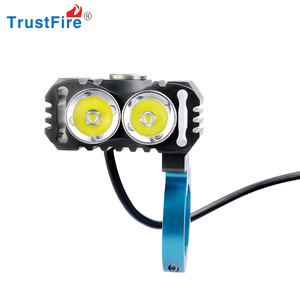 2 CREE XML L2 LED Bicycle Light Bike Lamp 800 Lumens 3 Mode Headlight Headlamp with 2600mAh 18650 Battery Pack TrustFire TR-D016