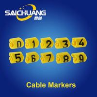 Hot Sale color cable markers tube from china workshop