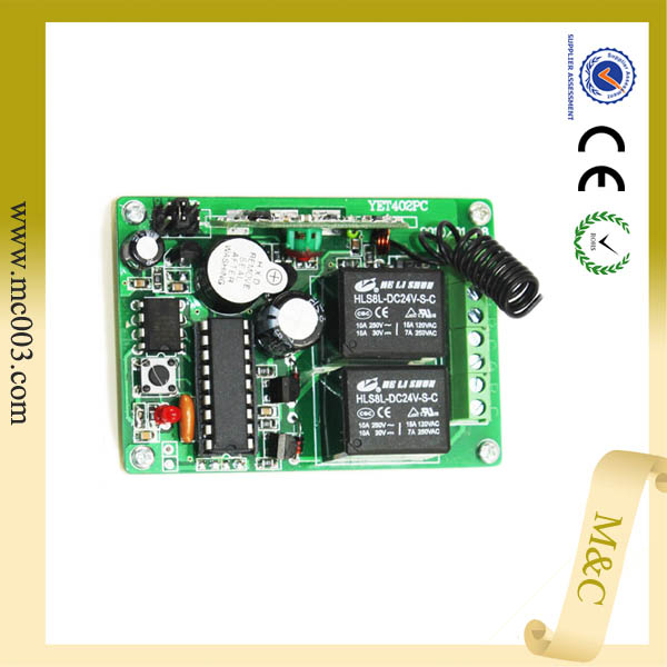 pumper RF remote controll transmitter and receiver board