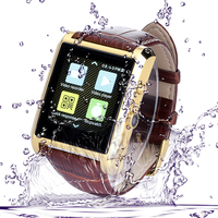Vensmile 1.3MP HD Camera wrist watch phone dual sim android wifi watch phone waterproof watch mobile phone