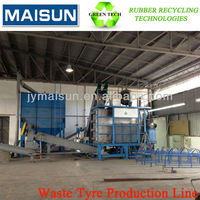 waste tire retreatment