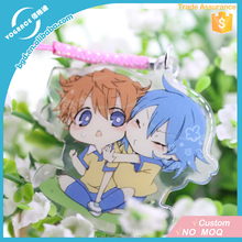 High Quality Custom Printed Acrylic charms /keychain/stand for promotional