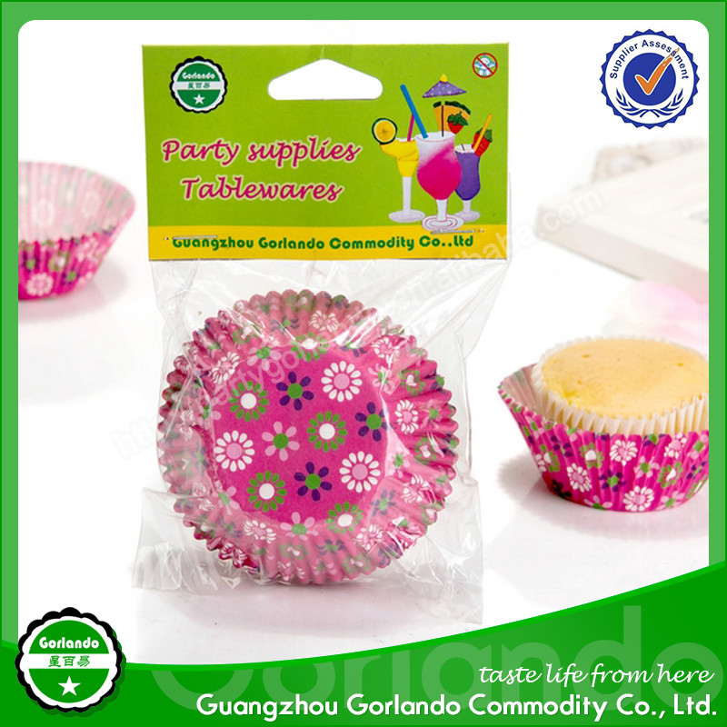 Unique hotsell greaseproof paper cup cake wrapper