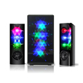 3D Flash Lights 2.1 Stero LED Dancing Speaker
