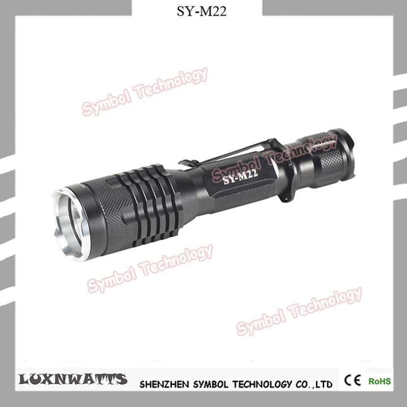 Superior waterproof powerful rechargeable <strong>led</strong> tactical G700 flashlight