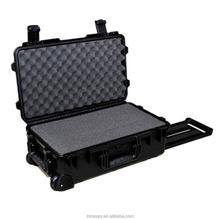 Tricases M2500 hard plastic injection moled waterproof shockproof equipment case