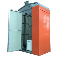 Swedge Treatment Plastic Outdoor Movable Toilet