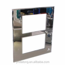 High quality tempered glass panels for wall light switches and sockets