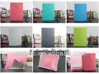2013 New Air Case, Transformer Folding Smart Cover Case for Apple iPad Air 5