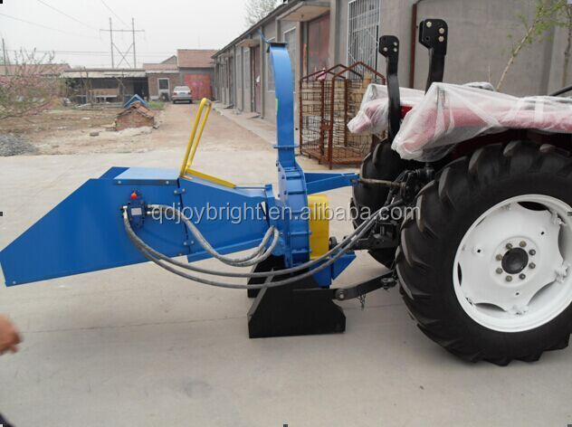 hydraulic PTO wood chipper for tractor