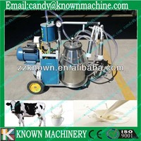 Portable vacuum pump rotary vane stainless steel portable goat milking machine