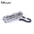 Wholesale 395nm~400nm Blacklight Flashlight 12 LED UV Purple light Flashlight