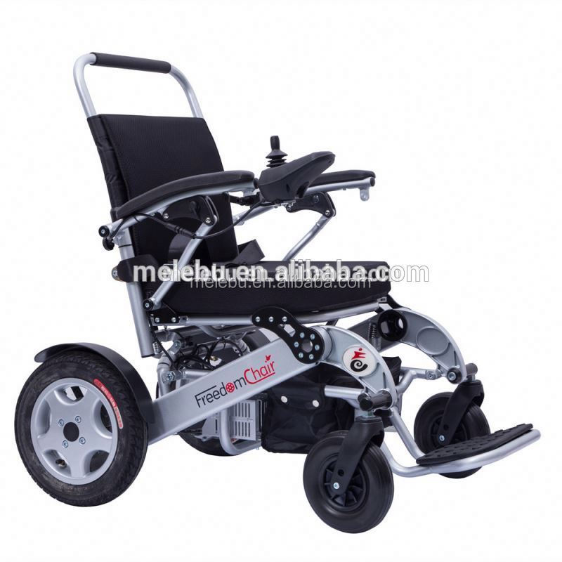 Economic invacare used mini folding lightweight power wheelchair for elderly people