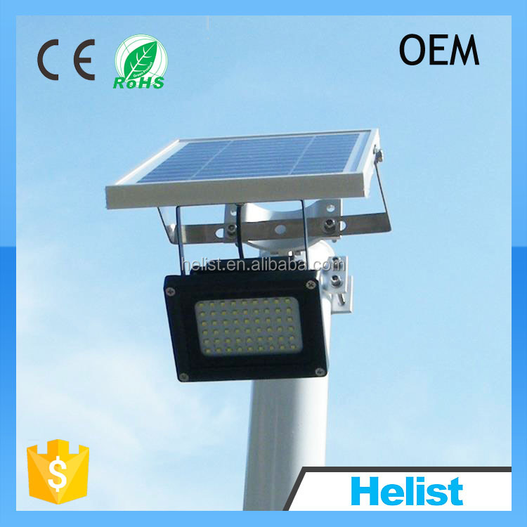 Factory wholesale all in one solar led flood light outdoor solar led flood light