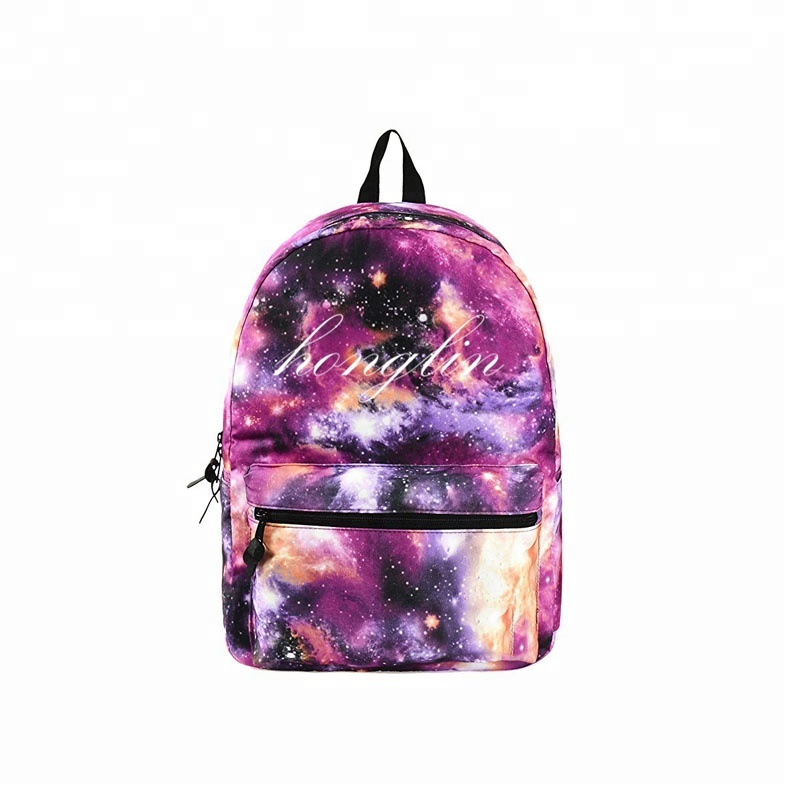 "Backpack Galaxy Women Men 16""<strong>x12</strong>""x6"" Holds 15.4-inch Laptop Backpack Girls Boys 2018 Newst Wholesale Bags"