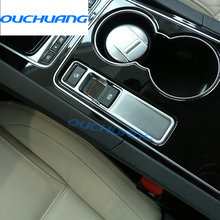 For Jaguar XE F-Pace XF F pace 2014 2016 2017 XFL Car Accessories Interior Electronic Handbrake Trim Stickers New Arrivals