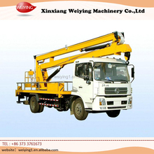 truck mounted articulated boom aerial work platform