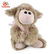 China Factory Promotional Gifts Super Soft Lamb Stuffed Toy Lying Cuddly Plush Sheep Toys