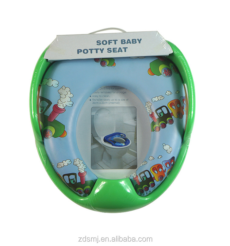 Eco-friendly PVC printing foam baby toilet seat cover