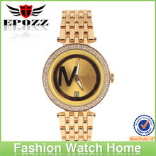 2013 new arrival MK gold women elegance watch