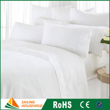 OEM package wholesale hotel bedding, white bed linens, luxury hotel bedding linen