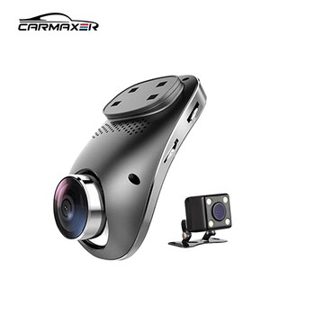 Wifi 1080p dual lens 3g car dvr black box with gps tracking