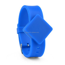 adjustable Patient identification RFID hospital id bracelet silicone wristband