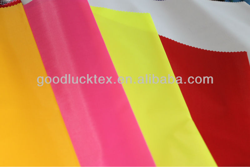 100% polyester taffeta fabric for cloth lining for South America