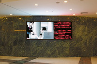 factory direct sale P4 indoor full color 128x128mm dot matrix 32x32 led dot display