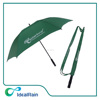"30"" double canopy golf umbrella promotional,custom golf umbrella with straps pouch"