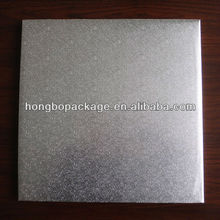 foil covered square rectangle silver cake board cake circles