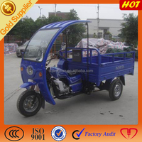 Superior ABS Semi-Cabin food tricycle with roof