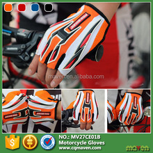 2015 New Design Lycra Microfiber Custom Short Motorcycle Gloves Made In China MV27CE01B