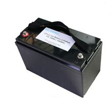 New arrival lifepo4 lithium battery pack for solar system/robot/UPS 12V 100Ah