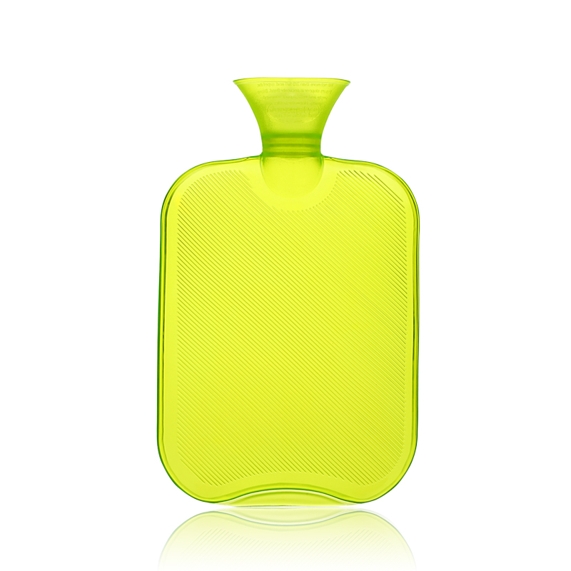 Green PVC 2000ml Hot Water Bottle/Bag Big Size