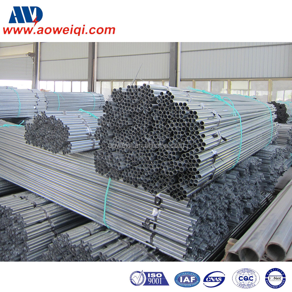 HANGZHOU AWQ new arrival custom galvanized EMT steel pipe