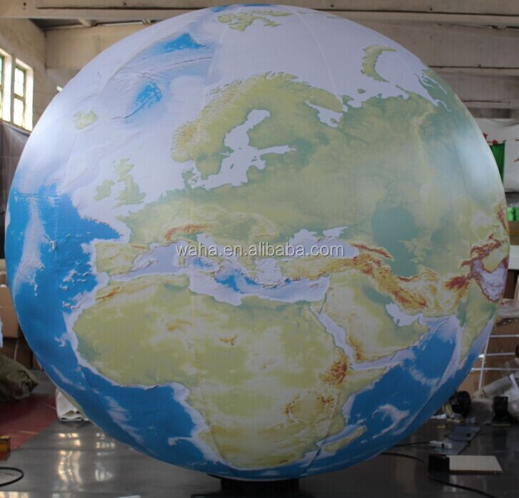 inflatable earth for event decoration,inflatable earth balloon