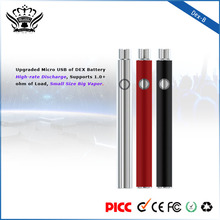 ce rohs electronic cigarette 510/ego thread USB passthrough battery e cig battery