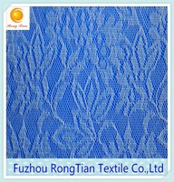 Cheap thin polyester knitting lace for the wedding dress
