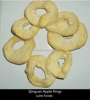 dehydrated Qinguan apple rings without core