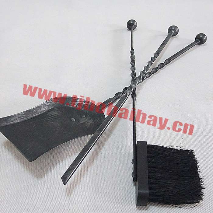 Unique design popular style fireplace tool set
