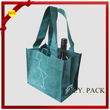 High quality wine bag non woven/wine bag for holding 6 bottles/fabric wine bag pattern