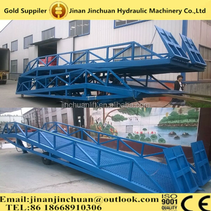 lifting equipment Mechanical Type 12 to 16 ton Loading Dock Leveler