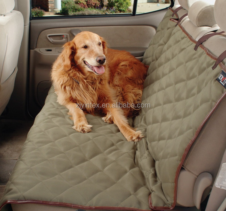 Luxury Deluxe Waterproof Dog Seat Cover