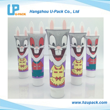Soft touch special sealing custom made plastic cosmetic tube