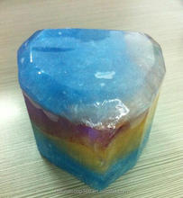 Natural beauty soap / aquamarine rock stone soap