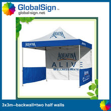 Shanghai GlobalSign Aluminum or Steel easy tent/pop up tent